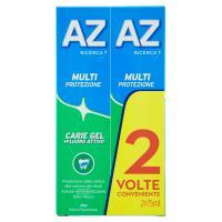 AZ Ricerca Dentifricio Multi Protezione Carie Gel + Fluoro Attivo