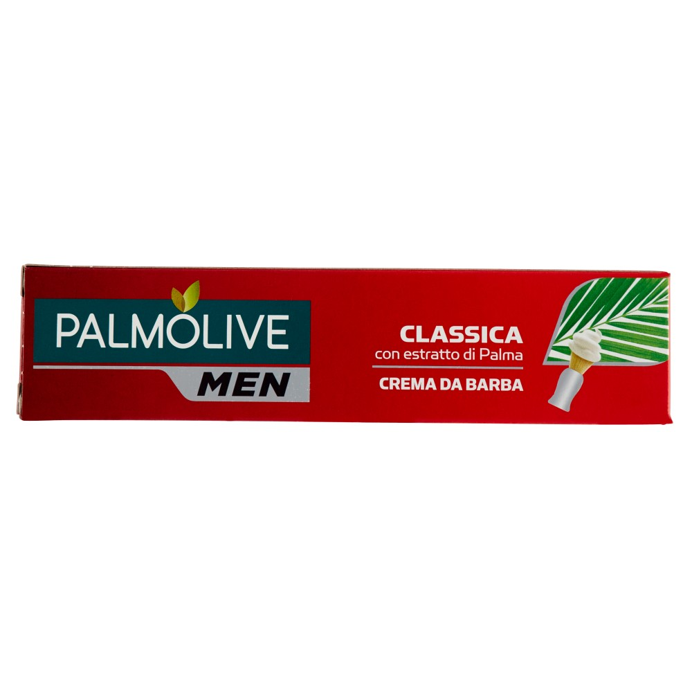 Palmolive Men Crema Da Barba Classica con Estratto di Palma