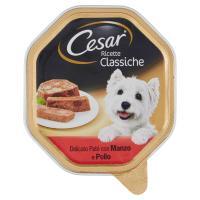 Cesar Ricette Classiche Delicato Paté con Manzo e Pollo