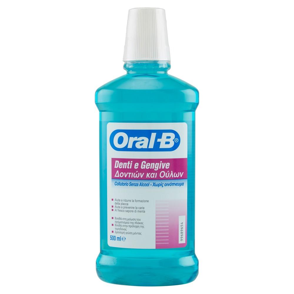 Oral-B Collutorio Denti e Gengive Senza Alcool