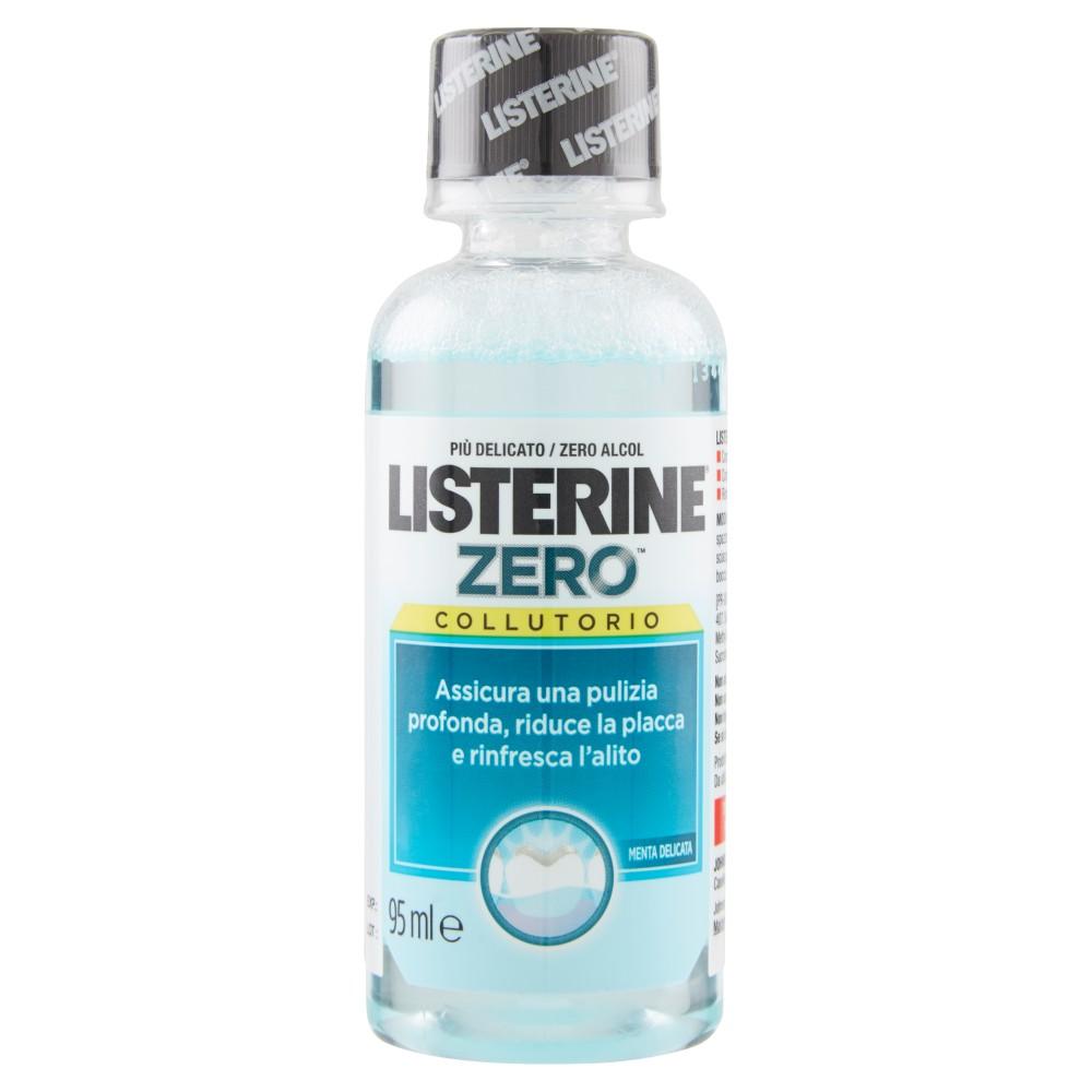 Listerine Zero collutorio menta delicata