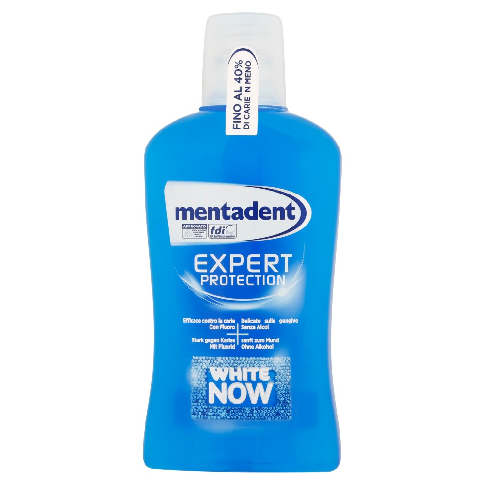 Mentadent Expert protection white now