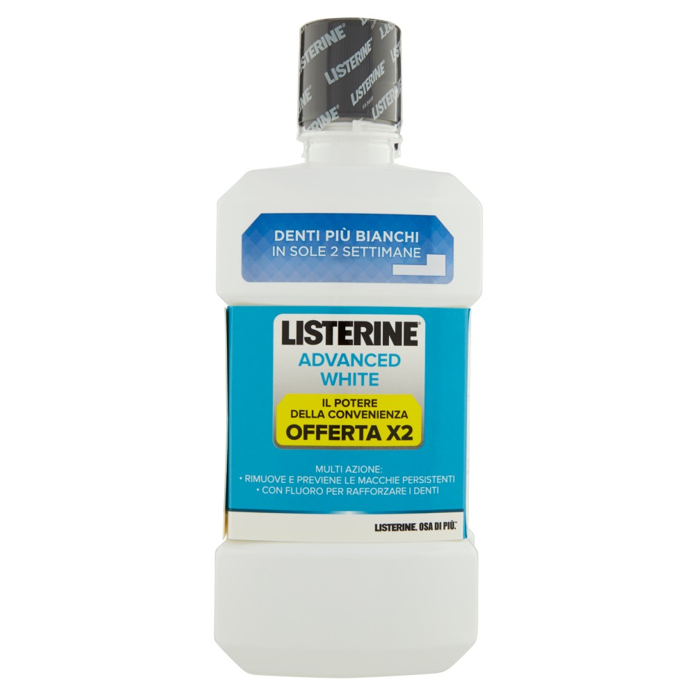 Listerine Advanced white +