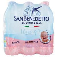 Acqua Minerale San Benedetto Benedicta Naturale