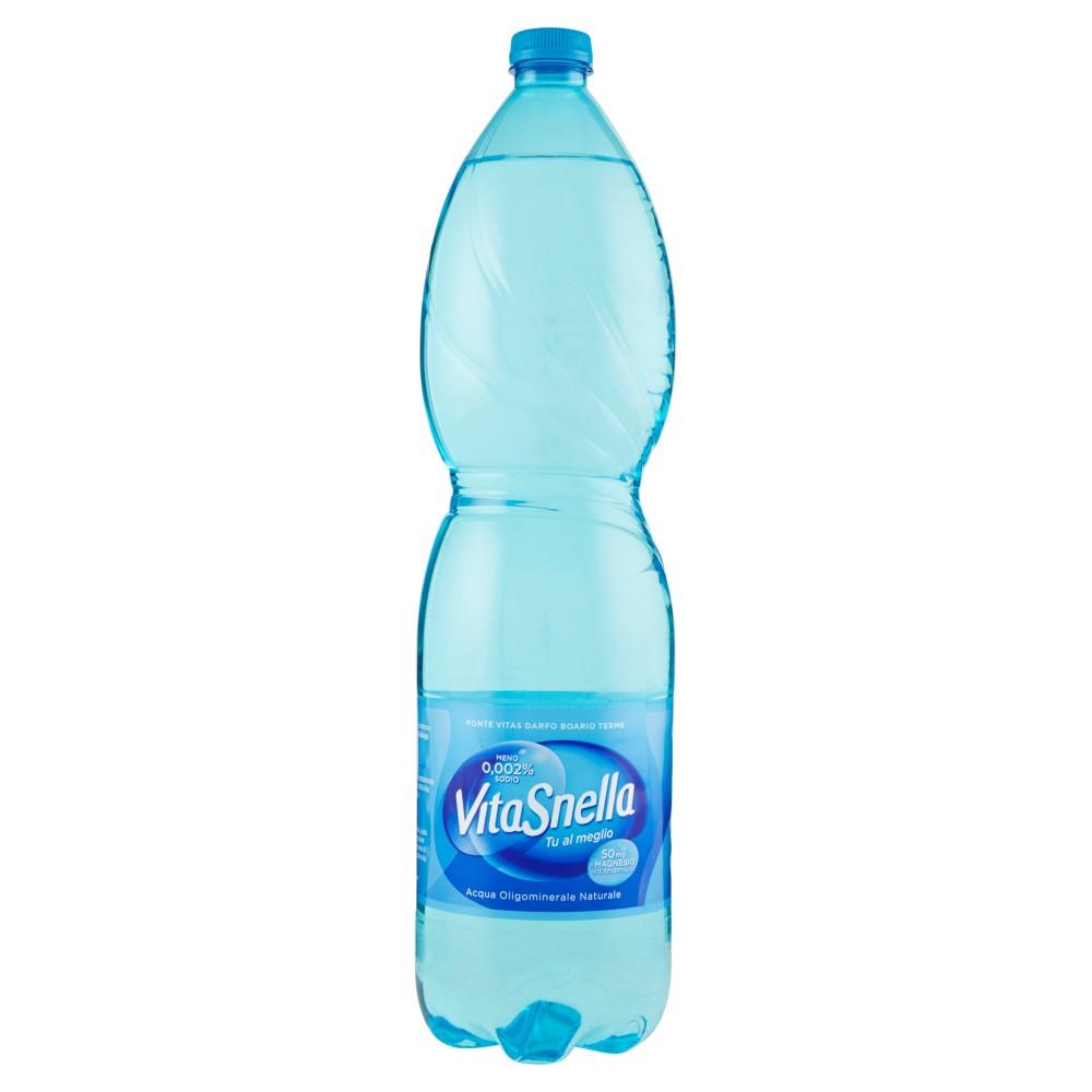 Vitasnella Acqua Oligominerale Naturale