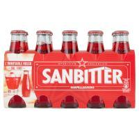 SANBITTÈR Aperitivo Analcolico, Bottiglia Monodosecl x