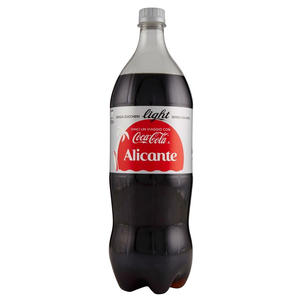 Coca-Cola Light senza Zuccheri senza Calorie bottiglia di plastica da