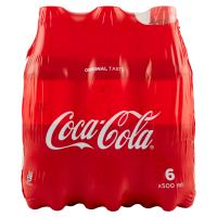 Coca-Cola Original Taste bottiglie da 500 ml Confezione da