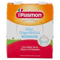 Plasmon Latte di Crescita 3 & 4 Alta Digeribilità