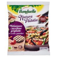 Bonduelle Natura in Padella Melanzane e zucchine grigliate con carote e pomodori Surgelato