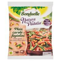 Bonduelle Natura in Padella Mais, carote e fagiolini