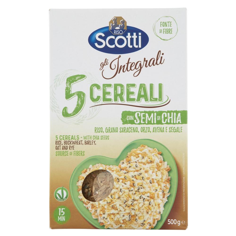Riso Scotti gli Integrali Cereali con Semi di Chia e Grano Saraceno