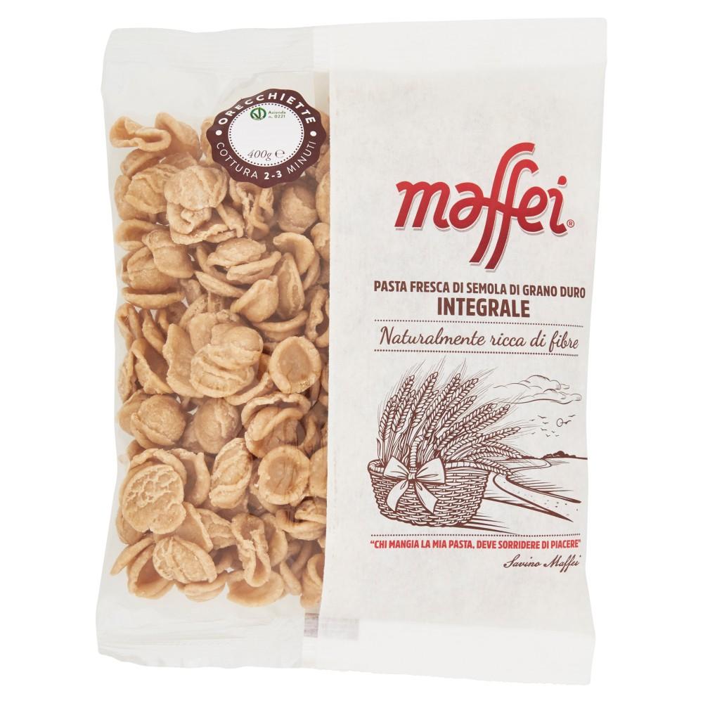 maffei Orecchiette Pasta Fresca di Semola di Grano Duro Integrale