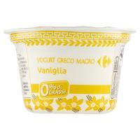 Carrefour Yogurt Greco Magro Vaniglia