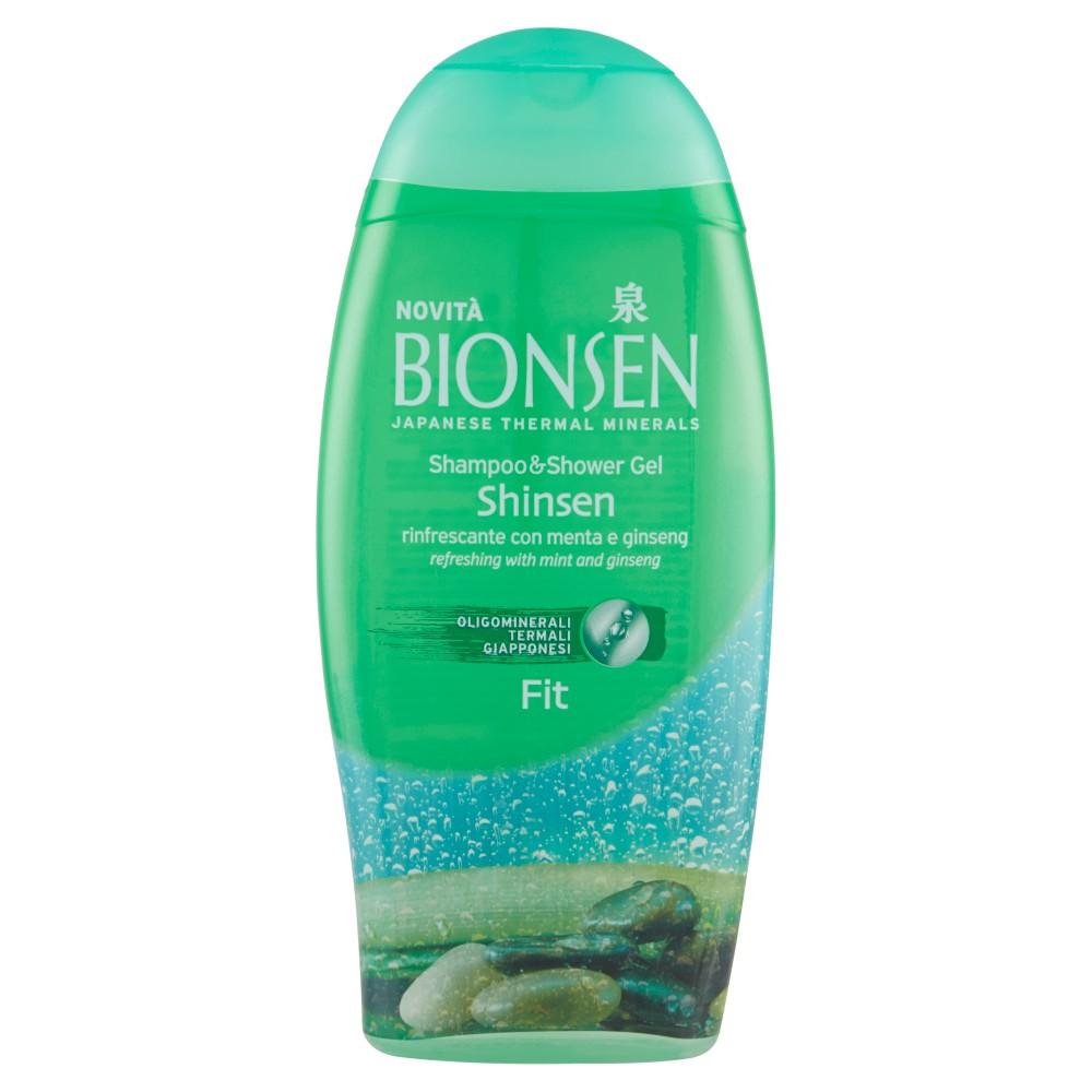 Bionsen 2in1 Shampoo&Shower Pure&Fit rinfrescante con menta e ginseng