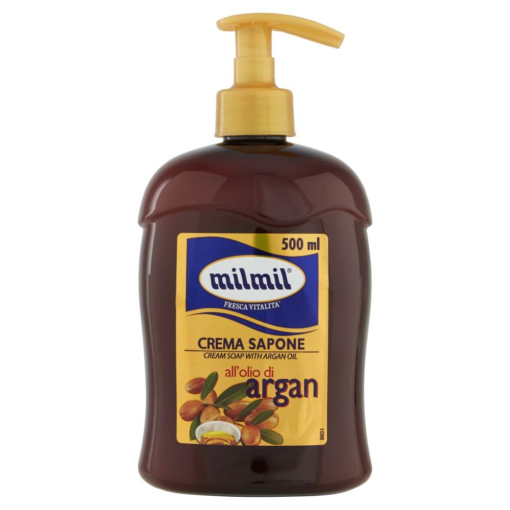 milmil Fresca Vitalità Crema Sapone all'Olio di Argan