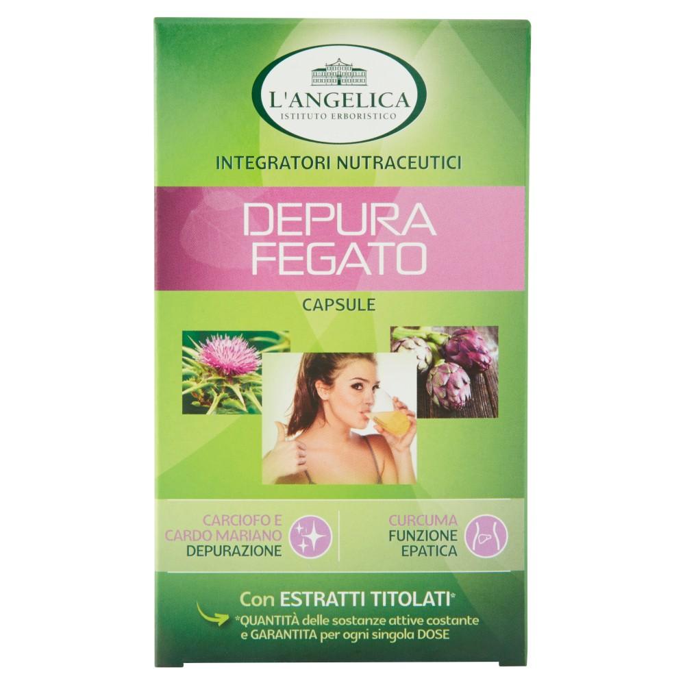L'Angelica Nutraceutica Depura fegato 40 capsule