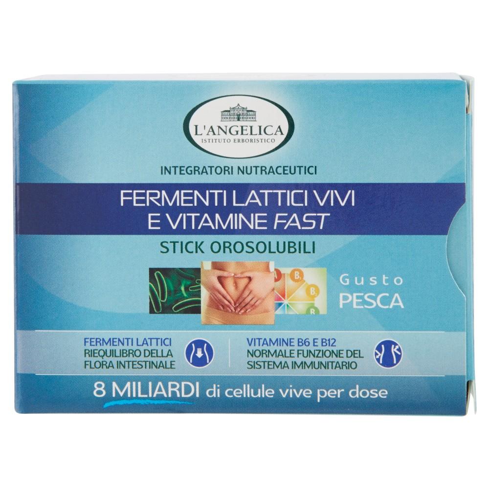 L'Angelica Nutraceutica Fermenti lattici vivi e vitamine fast