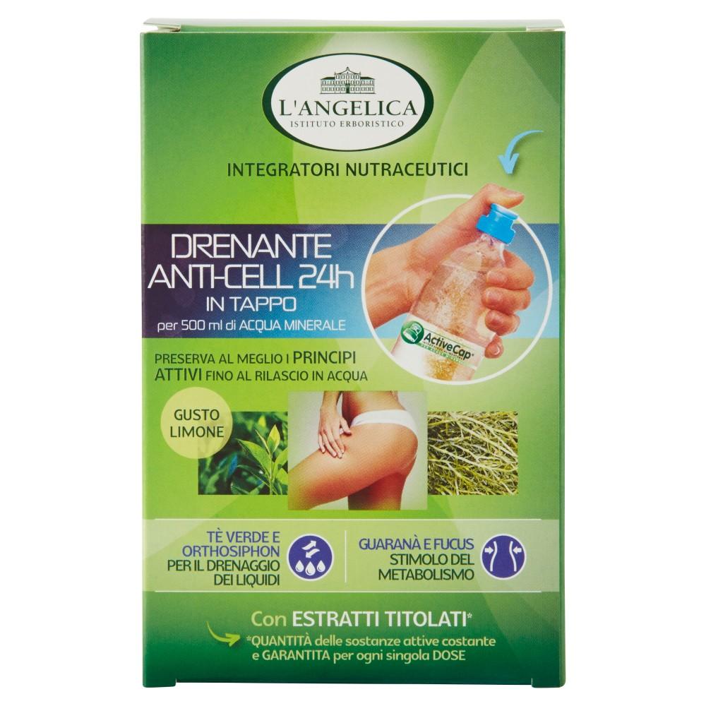 L'Angelica Nutraceutica Drenante anti-cell 24h 8 tappi