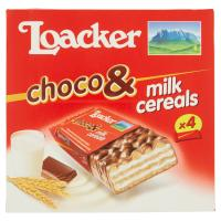 Loacker Choco & Milk Cereals 4 X