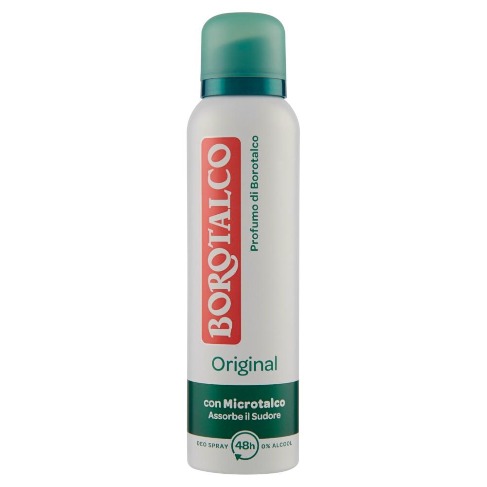 Borotalco Original Profumo di Borotalco Deo Spray 0% Alcool