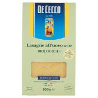 De Cecco Lasagne all'uovo n° 112 Biologiche