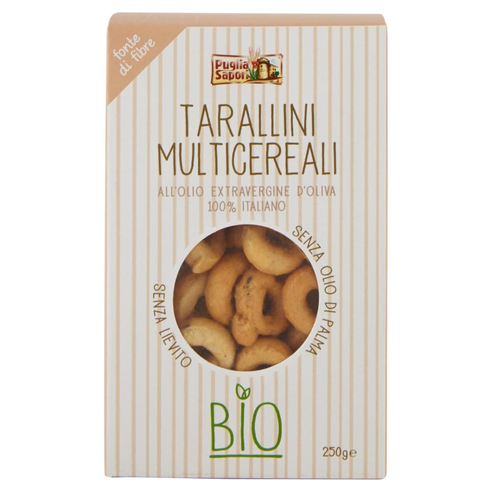 Puglia Sapori Tarallini Multicereali Bio