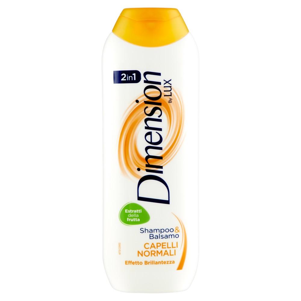 Dimension by Lux Shampoo & Balsamo 2in1 Capelli Normali Effetto Brillantezza
