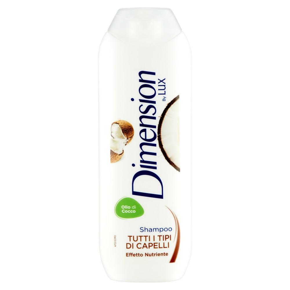 Dimension by Lux Shampoo Tutti i Tipi di Capelli Effetto Nutriente