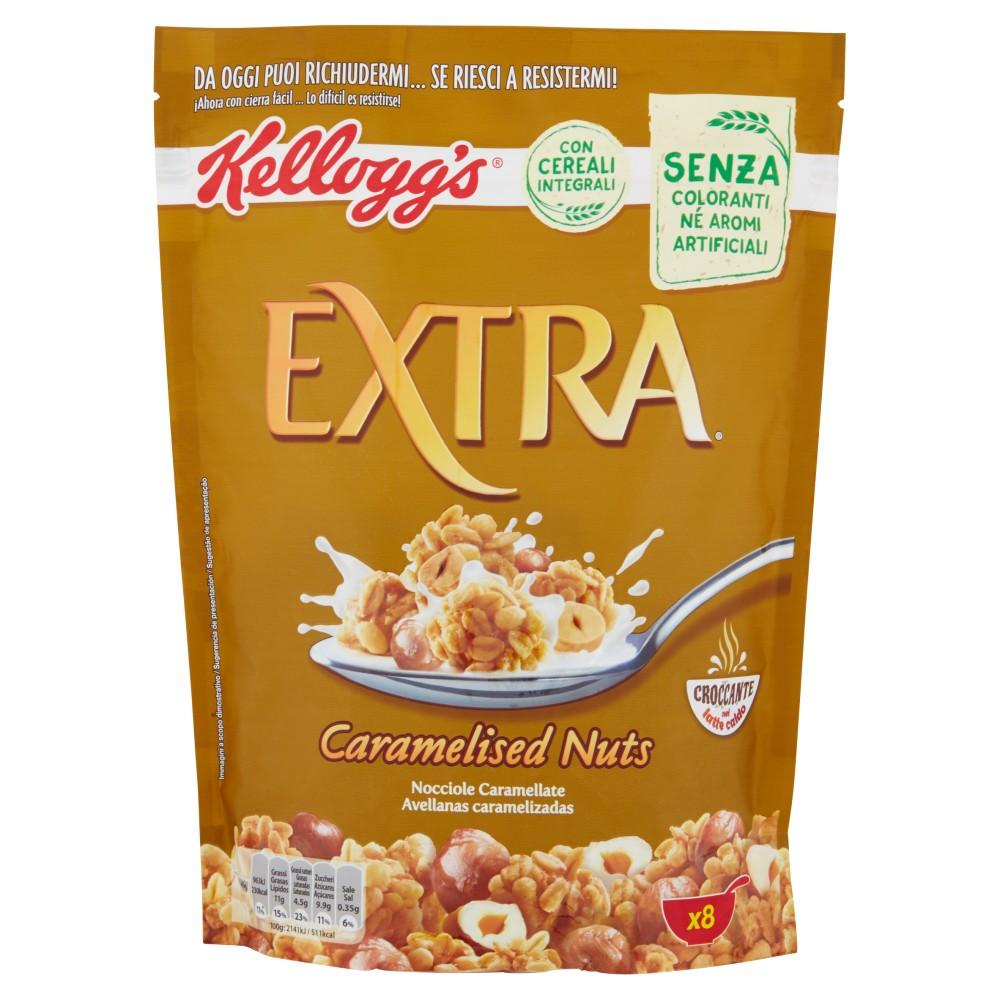 Kellogg's Extra Caramelized Nuts
