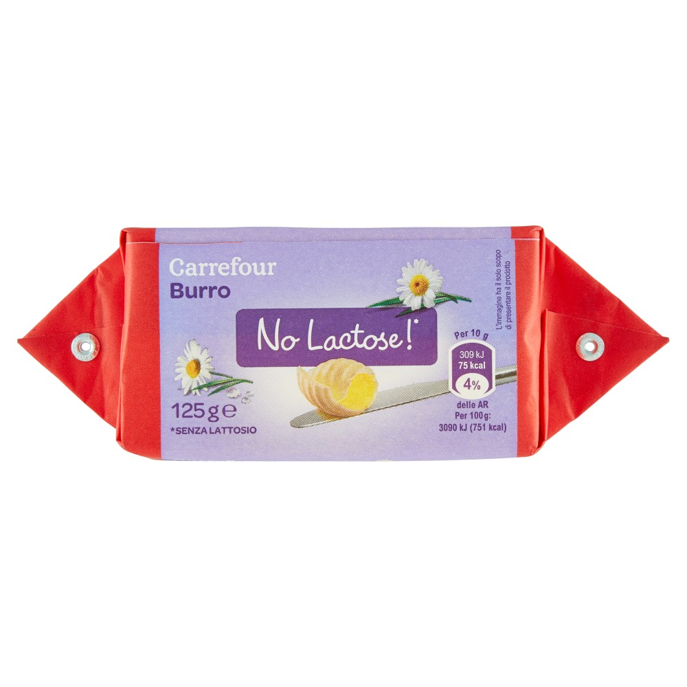 Carrefour Burro No Lactose!*
