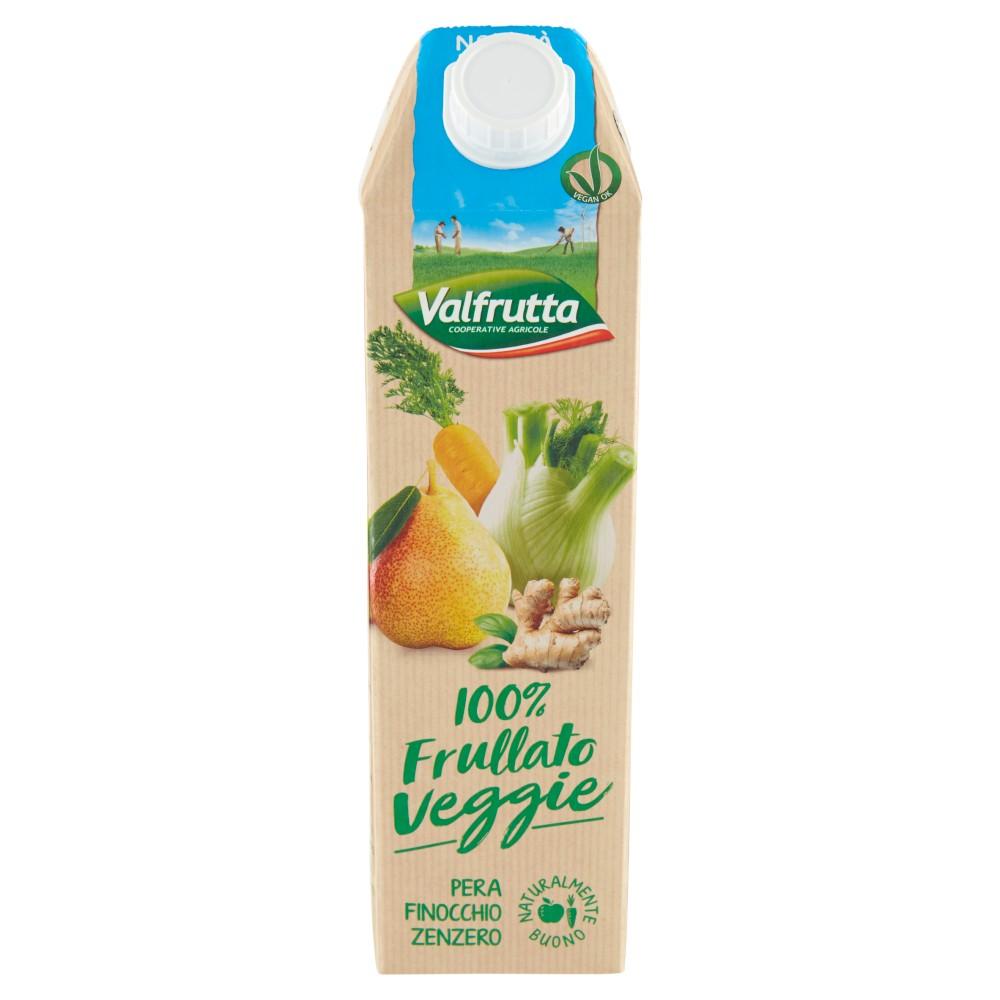 Valfrutta 100% Frullato Veggie Pera Finocchio Zenzero