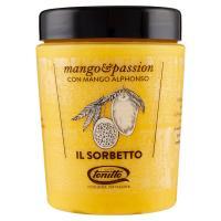 tonitto il Sorbetto mango&passion con Mango Alphonso
