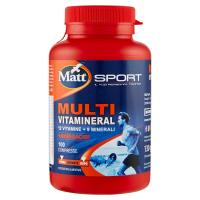 Matt Sport Multi Vitamineral 100 Compresse