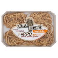 Luciana Mosconi tagliatelle specialità di Farro e Uova fresche