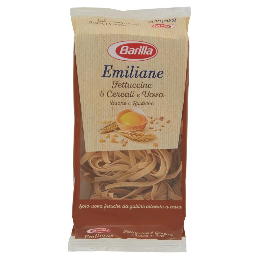 Barilla Emiliane Fettuccine 5 Cereali e Uova Buone e Rustiche