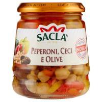 Saclà Peperoni, Ceci e Olive