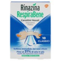 Rinazina, RespiraBene cerottini nasali classici