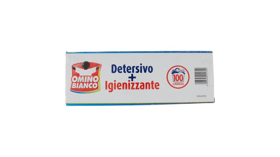 Omino Bianco Detersivo + Igienizzante