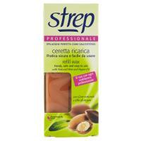 Strep Professionale Ceretta ricarica con Cera naturale e Olio di Argan