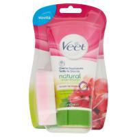Veet Crema Depilatoria Sotto la Doccia natural inspirations Per tutti i tipi di pelle