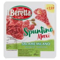 Fratelli Beretta Zero24 Spuntino maxi salame Milano