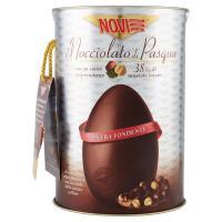 Novi il Nocciolato di Pasqua Uovo cioccolato extra fondente con nocciole delle nostre colline