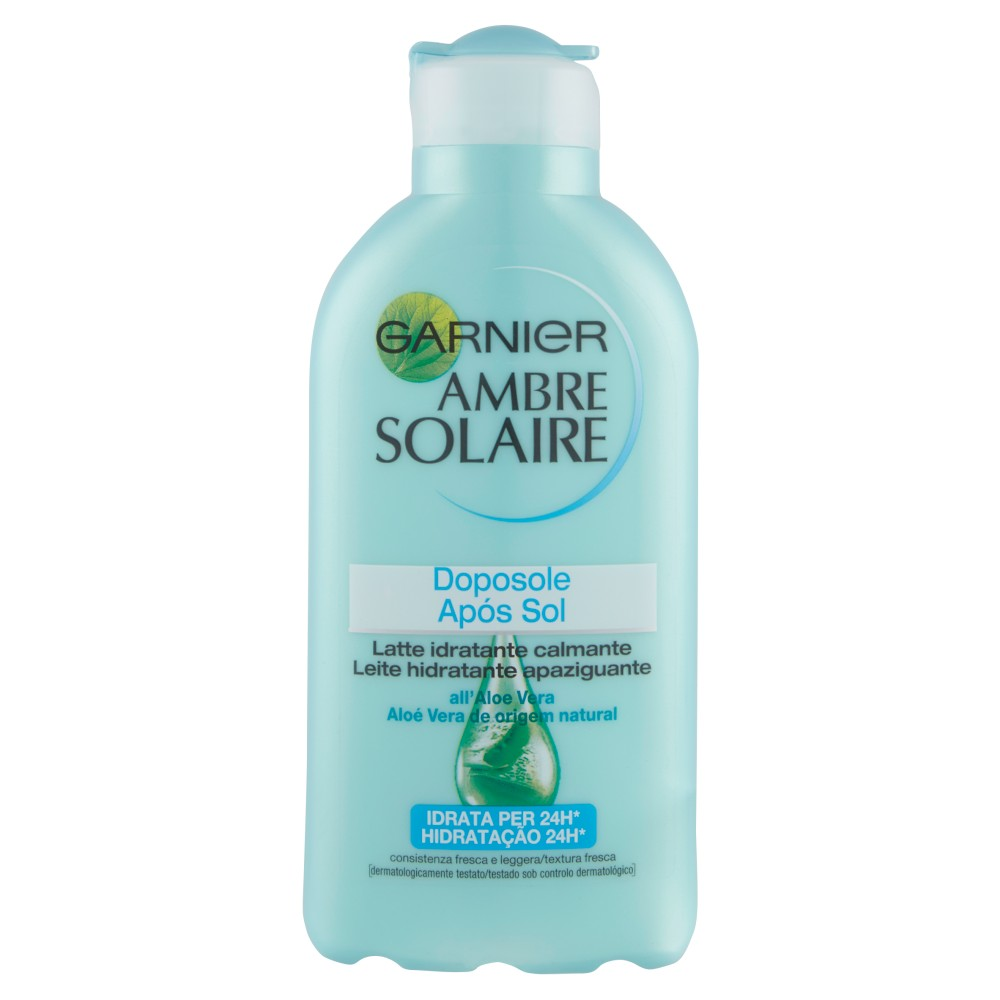 Garnier Ambre Solaire - Latte doposole idratante calmante