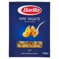 Barilla Semola Pipe Rigate n.91