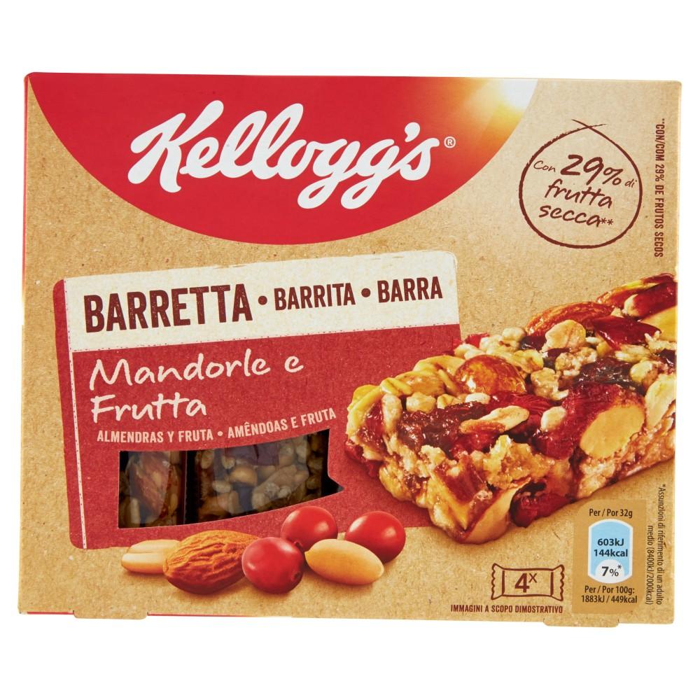 Kellogg's Barretta Mandorle e Frutta