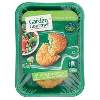 GARDEN GOURMET Cotoletta croccante con spinaci riso e formaggio 2 pezzi