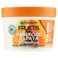 Garnier Fructis Hair Food Papaya - Maschera riparatrice 3in1 per capelli danneggiati