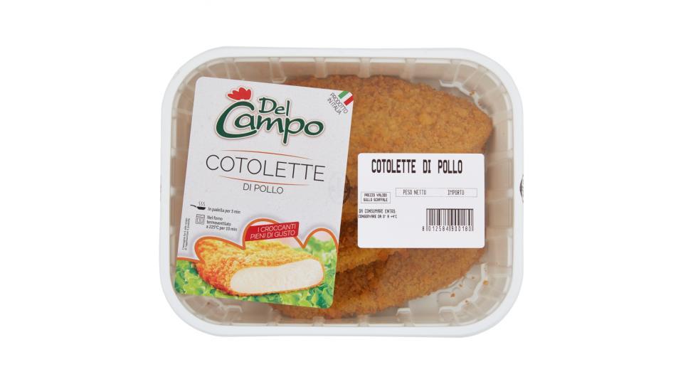 Del Campo Cotolette con Pollo