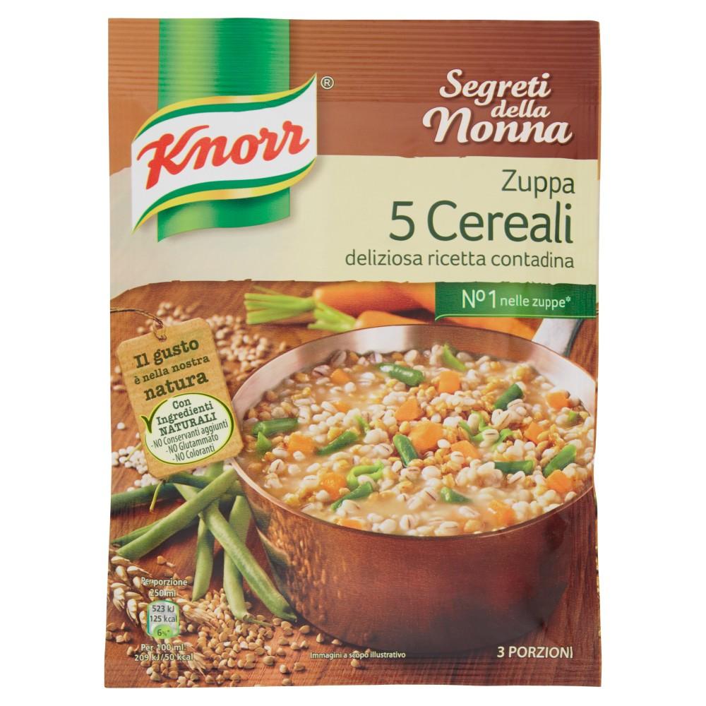 Knorr Segreti Della Nonna Zuppa 5 Cereali